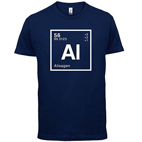 Alisa Periodensystem - Herren T-Shirt - 13 Farben Navy