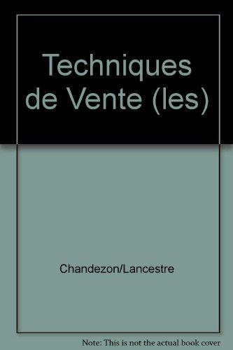 Techniques de Vente (les)