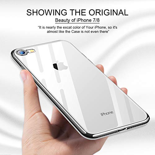 humixx Cover iPhone 8/iPhone 7Custodia iPhone 8 Crystal Clear