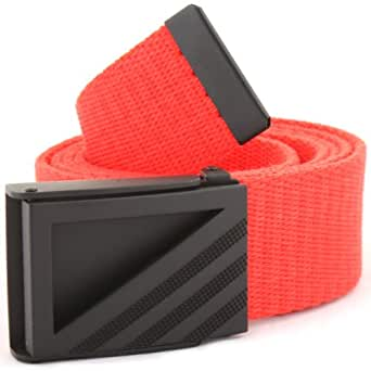 Adidas Golf 2014 Webbing Belt - One Size Fits All (High Res Red)