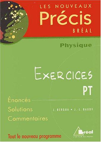 Physique PT : Exercices