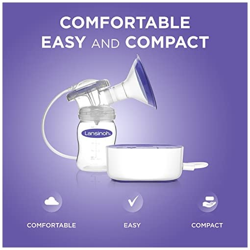 Lansinoh Breast Pump Compact Single Electric Breastpump Babaloo