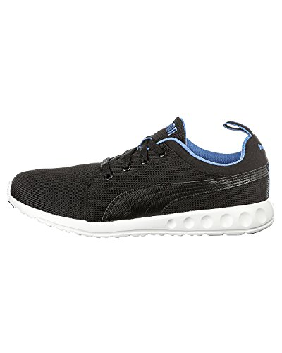 77332d7962ab86 Puma 35748204 Men S Carson Runner Black Strong Blue Mesh Running Shoes 10 Uk-  Price in India