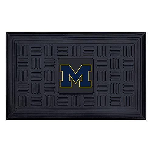FANMATS NCAA Universität von Michigan Wolverines Vinyl Fußmatte -