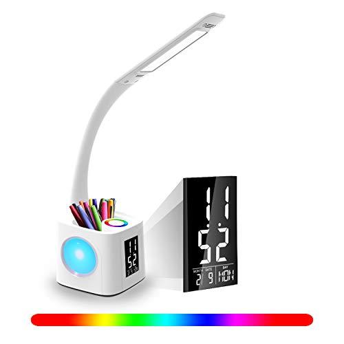 Lámpara Escritorio YOUKOYI LED puerto Carga USB Estudio