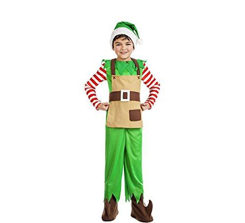 Imagen de disfraz elfo navidad talla 3 4 años tamaño infantil