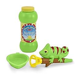 Melissa & Doug Sunny Patch Verdie Chameleon Bubble Blower, Multi Color