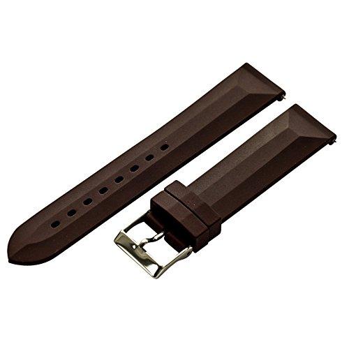 16-mm-braun-gummi-watch-band-gurt-quick-release-pins-mit-edelstahl-schnalle-fur-alle-uhren