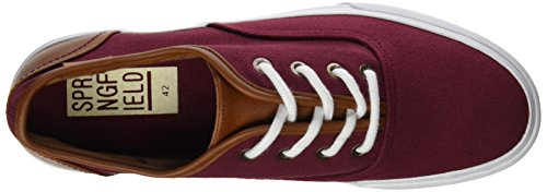 Springfield  Bamba Twill Perchado, Baskets pour homme Rouge