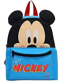 MICKEY - Sac à dos crèche et maternelle 3D - Bleu
