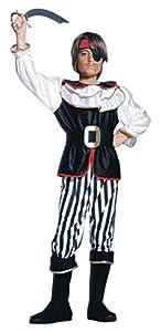 WIDMANN Widman - Disfraz de pirata para niño, talla 140 (38747)