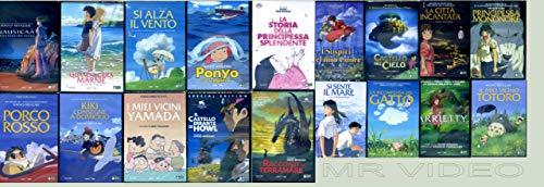 Cofanetto Miyazaki +Takahata-Morita-Yonebayashi-Mochizuki