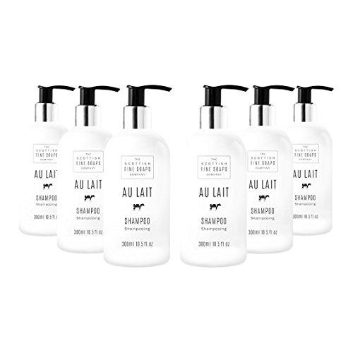 Scottish Fine Soaps Au Lait Hair Shampoo Six Pack