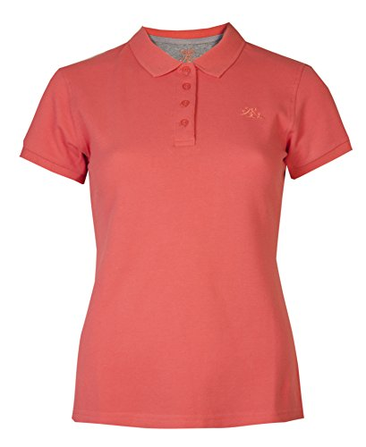 Brody & Co Damen Poloshirts, Pikee, Kurzarm, für Golf/Tennis/Fitness Gr. 40, korallenrot