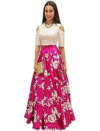 Vaidehi Creation Women's Cotton Silk Dress Material