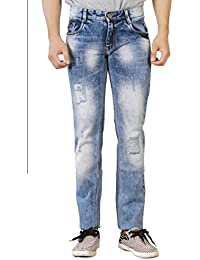 Studio Nexx Men's Light Blue Slim Fit Jeans - B072F326Y8