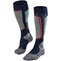 Falke SK2 Skiing Knee-High Calcetines, Mujer, Azul Marino, Medium
