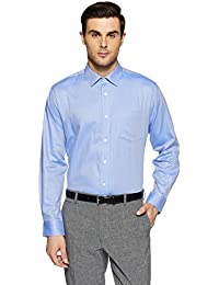 Symbol Amazon Brand Men's Formal Premium Dobby Regular Fit Shirt