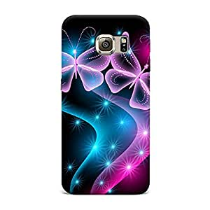 Qrioh Printed Designer Back Case Cover for Samsung S6 - 6M-MP717