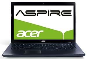Acer Aspire 7739-384G50Mnkk 43,9 cm (17,3 Zoll) Notebook (Intel Core i3-380M, 2,5GHz, 4GB RAM, 500GB HDD, Intel HD 3000, DVD, Win 7), grau