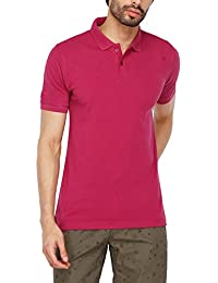 Stop by Shoppers Stop Mens Solid Polo T-Shirt