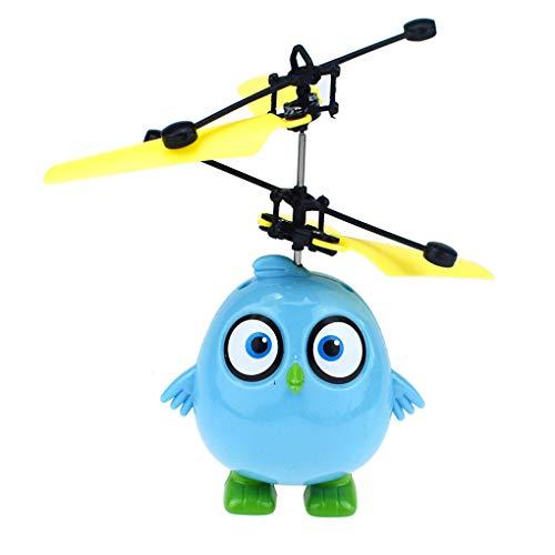 Ben-gi Hubschrauber Induction Flugzeug LED-Vogel-Plastikgeschenk Wiederaufladbare Hubschrauber Kinder Elektro-Hubschrauber