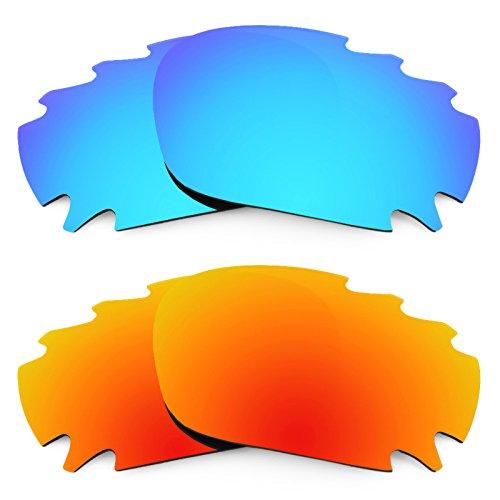 Revant Ersatzlinsen für Oakley Jawbone Vented Polarisiert 2 Paar Kombipack K002