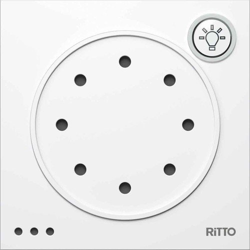 Ritto Portier 1876050 Door Communication Interface Grey / Brown