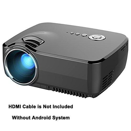 Videoprojecteur LED, Honyi 800 * 480 Pixels 1200...