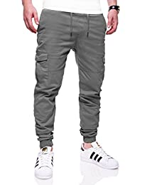 MT Styles Cargo Jogging Chino-pantalon homme 7005