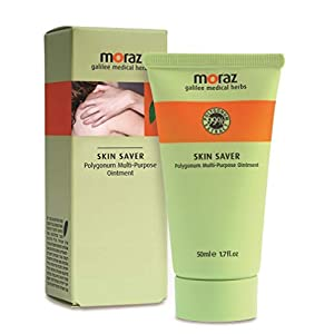 Moraz – reparierender und feuchtigkeitsspendender Balsam – heilende Creme – geschädigte oder sehr trockene Haut – repariert Reifenbrüche, Hände und Füße – 50 ml