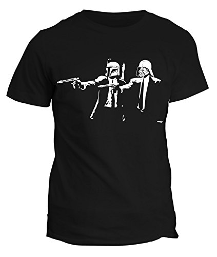 Tshirt Star Wars Stormtrooper- pulp fiction- film cult guerre stellari - in cotone by Fashwork