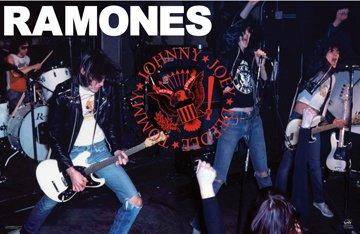 New The Ramones Poster Live–Rare Punk Rock 24x 36