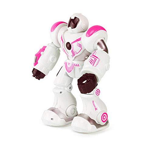 LayOPO Intelligenter Roboter mit Fernbedienung, intelligenter Mechanischer Roboter - multifunktionales Kinderspielzeug, Lernen, Walken, Tanzen, Singen, Smart Robotics (Roboter Tanz Kostüm)