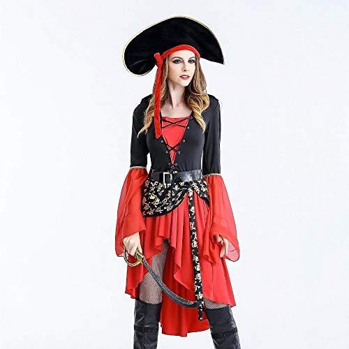 Krieger Priester Kostüm - Fashion-Cos1 Sexy Frauen Piraten Kostüm Halloween