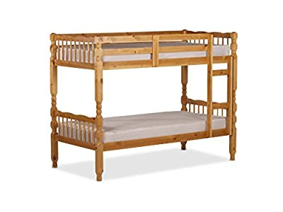 Rio Verona Pine Wood 3Ft Bunk Bed Converts To Single Beds - inexpensive UK Bunkbed store.