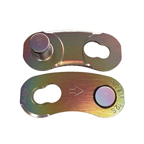 SRAM Kettenverschluss Power Lock 4er Packung Rainbow Kette, Schwarz -