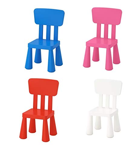 IKEA Mammut 403.653.71 High Back Plastic Children\'s Chair Suitable for Indoor/Outdoor Use White ...