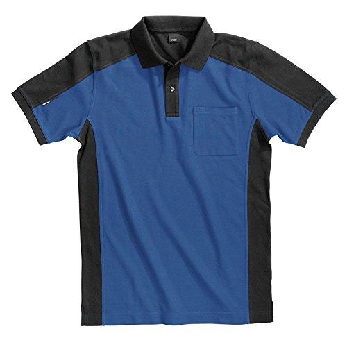 Preisvergleich Produktbild FHB Polo-Shirt Konrad,  größe L,  royalblau / schwarz,  91490-3620-L