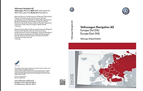 Preisvergleich Produktbild Volkswagen Original Software Ost Europa 2014 V6 für RNS 315 Navigationssystem