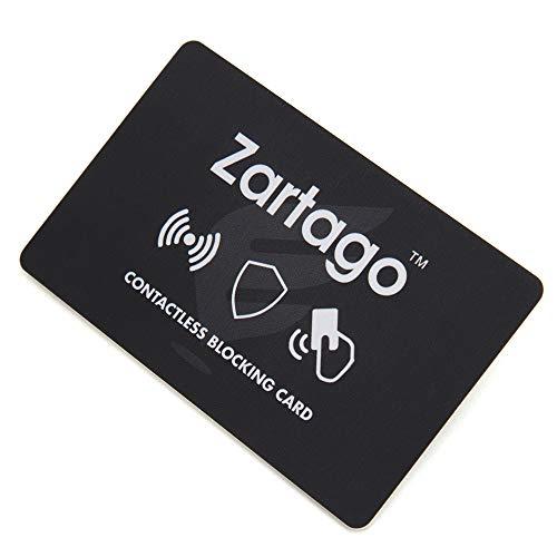 Zartago RFID Blocker Card | Proteccion RFID Tarjetas