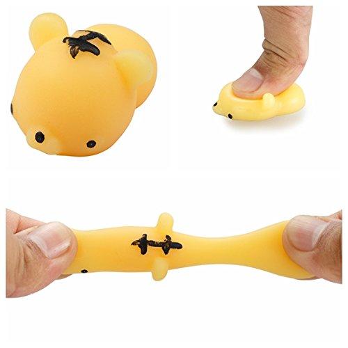 Preisvergleich Produktbild Squishy toy Squishies Spielzeug, Alfort Spielzeug Tier Squeeze Langsam Rising Dekompressions-Spielzeug Stress Relief Holeider Puppe Geschenke ( Gelber Tiger )
