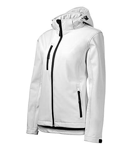 Veste légere d'exterieur sportive ajustée avec capuche pour Femme –