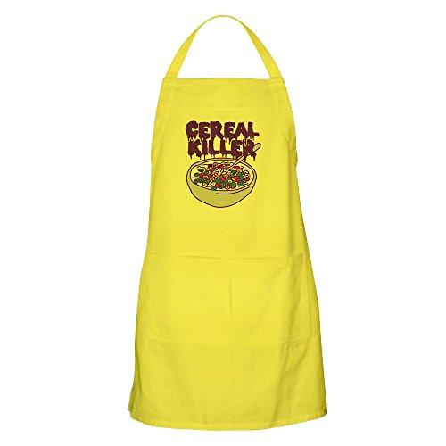 Cereal Killer Halloween - CafePress-Müsli Killer-Küche Schürze mit Taschen, Grillen