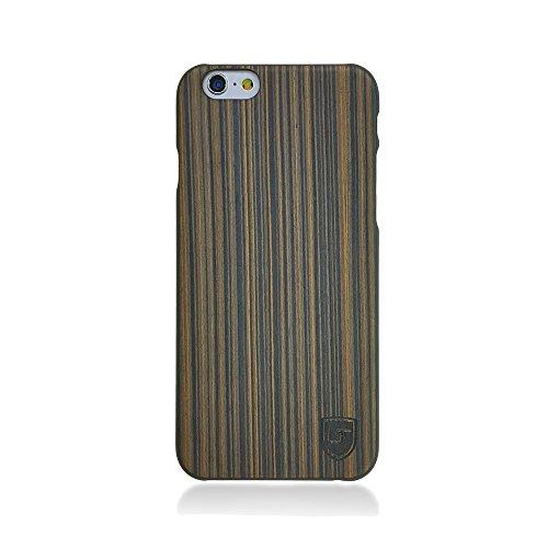 Custodia in legno Apple iPhone 6 / 6s ** Vero Legno - Ultra Sottile ** Design Unico ** Perfect Fit ** Cover Bumper UTECTION® Pioppo Pioppo