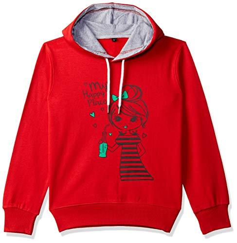 T2F Girl's Sweatshirt (BYS-SS-08_Multicolor_3-4 Years)