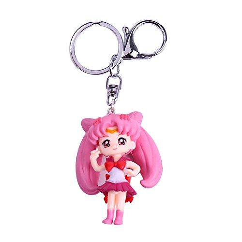 Bellenne Sailor Moon Schlüsselanhänger Schlüsselring Schlüsselbund Keychain (H06)