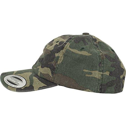 ... Flexfit Low Profile Camo Washed Cap Unisex Kappe für Damen und Herren, Base  Cap mit ...