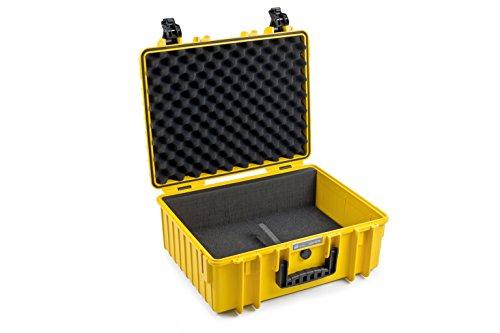 B&W outdoor.cases Typ 6000 für 2 Einsätze Typ 3000 (DJI, GoPro, Facheinteilung) - Das Original (Pro Goggles Fpv Go)