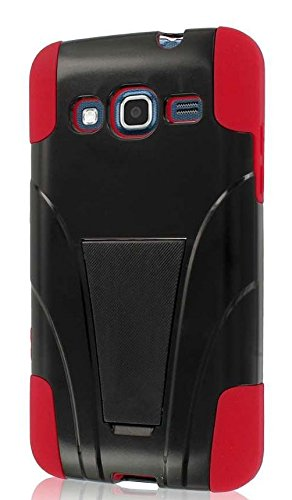 MPERO IMPACT X Series Kickstand Case Tasche Hülle for Samsung ATIV S Neo I800 I8675 - Red